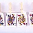 Playing cards — Stock Photo #31001209