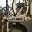 Spinning wheel — Stock Photo