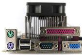 Bilgisayar bağlantı kabloları ve fişleri — Stok fotoğraf