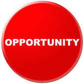 Opportunity word — Stock Photo