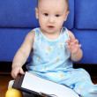 Baby planning a day — Stock Photo #3171618