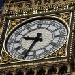 Clock of Big Ben in London, UK — Stock fotografie
