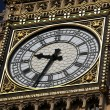 Stock Photo: Clock of Big Ben in London, UK
