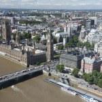 Big Bena i budynki Parlamentu w Londynie, Wielka Brytania — Zdjęcie stockowe #31770625