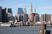 NYC, view to Manhattan — Stock Photo
