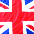 UK, British flag, Union Jack — Stock Photo