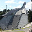 OSLO, JULY 26: Holmenkollen ski jump hill Oslo — Stock Photo