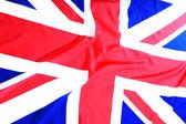 UK, British flag, Union Jack — Stock Photo