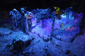 Reed Flute Caves in Guilin, Guangxi Provine, China — Foto Stock