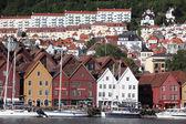 BERGEN, NORWAY - CIRCA : Views of city Circa — Stock Photo