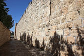 Jerusalem old city, site near Zion Gate — Foto Stock
