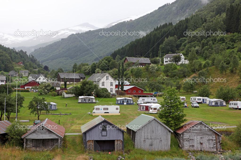 Rural Houses In Norway Stock Photo Konstantin32 32528265