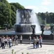Statues in Vigeland park in Oslo, Norway — Stock Photo