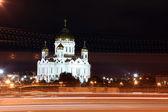 救主耶稣基督夜视图大教堂 — 图库照片