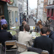 PARIS - MAY 1: View of typical paris cafe on May 1, 2013 in Pari — Stock Photo