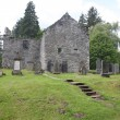 Stock Photo: Gothic old cemetery in Blair castle