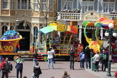 Local and Tourist in the famous Disneyland Park — Stock Photo
