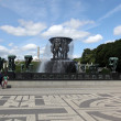 Statues in Vigeland park in Oslo — Stock Photo
