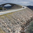 Stock Photo: Storseisundet Bridge on Atlantic Road in Norway