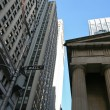 Stock Photo: Wall street in New York, USA
