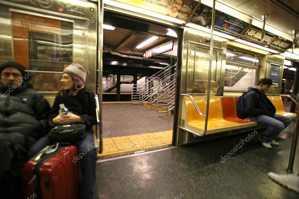 a personal recount about a ride in a new york city subway