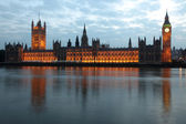 View of Big Ben and Houses of Parliament — Stock Photo
