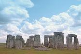 Stonehenge on green grass — Stock Photo