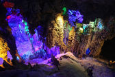 Reed Flute Caves in Guilin — Stock Photo