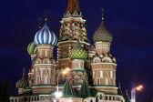 собор василия блаженного в москве — Стоковое фото