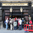 Stock Photo: London Silver Cross pub