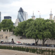 Tower of London on the Thames river — Stock Photo #34691643