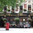 London Sherlock Holmes restaurant — Stock Photo #34691703