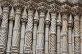 ロンドンの建物の華やかな壁 — ストック写真