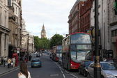 Street of London with Big Ben view — Stock Photo
