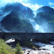 Famous Waterfall Latefossen, Norway — Stock Photo