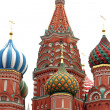 Dome of Intercession Cathedral St. Basil's on Red square   — Stock Photo
