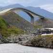 Storseisundet Bridge on the Atlantic Road in Norway — Stock Photo #35403531
