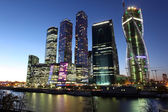 Skyscrapers City international business center in Moscow — Stock Photo