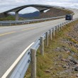 Atlantic Road in Norway — Stock Photo