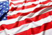 Close up of American flag — Stock Photo