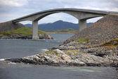γέφυρα storseisundet — Φωτογραφία Αρχείου