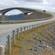 The Atlantic Road — Stock Photo
