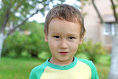 Funny little boy — Stock Photo