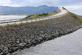 在挪威的大西洋公路 — 图库照片