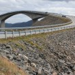 Storseisundet Bridge on the Atlantic Road in Norway — Stock Photo