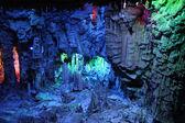 リード フルート洞窟桂林、耕地広西、中国で — ストック写真