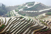 Longji rice terraces, Guangxi province, China — Stock Photo