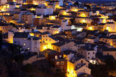 Picturesque view with residence houses in Cuenca — ストック写真