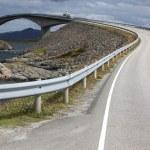 Atlantic Road in Norway — Stock Photo