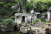 Classic chinese garden, south China — Stock Photo
